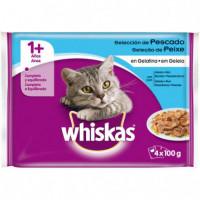 Whiskas Seleccion Pescado 4X100Gr (13 Udes.)