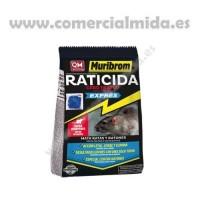 Muribrom Quimunsa Raticida Cebo Fresco Exprés 1Kg Veneno Ratones, Ratas y Roedores (Brodifacoum)