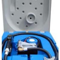Surtidores para Gasoil 210l con Bomba Eléctrica 12 V, 40 L/min y Pistola Automática
