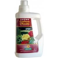 Abono Liquido Ideal Coniferas y Rosales. 1 L