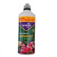 Abono Líquido para Todo Tipo de Plantas Fertiberia Universal 1L + 30% Gratis