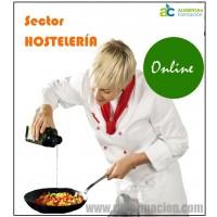 Curso Manipulador Alimentos ALTO Riesgo . Hostelería . Online. TODA España. 8€