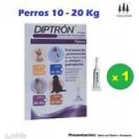 Pipeta Diptron 1,34 Ml Perros 10-20 Kg Pipetas Anti Pulgas,garrapatas Pipette