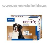Pipetas Antiparasitarias Effitix XL Perros Mu