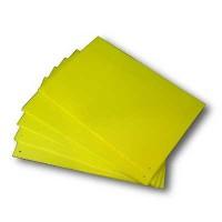 Trampa Cromática Amarilla para Captura de Insectos (2 Unidades)