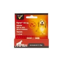1 Pipeta Fiprex M Spot-On Perros Medianos (10