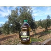 Aceite de Oliva Virgen Extra Ecológico. Botella 2 Litros Plástico