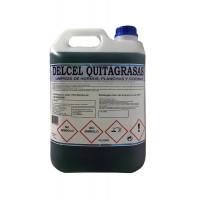 Delcel Quita-Grasas Higienizante para Cocinas, Suelos y Superficies Muy Sucias (5Kgrs)