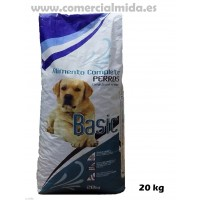 Saco de Pienso Comida para Perros Adultos Basic 20 Kg