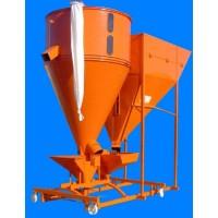 Conjunto Molino-Mezclador Vertical Desplazable