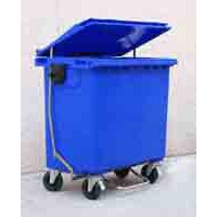 Contenedor Residuos 800L. Azul