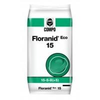 Floranid Eco 15, Abono Complejo NPK 15-5-8 (5-17-5) con Nitrógeno de Liberación Lenta de Compo