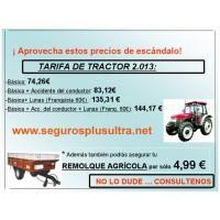 Seguros para Tractores y Remolques