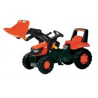 Tractor Infantil de Juguete a Pedales Kubota M-9540 con Pala
