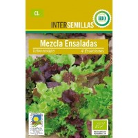 Semillas Ecologicas Mezcla Ensaladas 4Gr