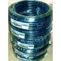 Tubo Pe 40 Banda Azul Uso Alimentario