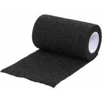 1 Rollo de Vendaje Flexible para Animales Vet-Flex Color Negro