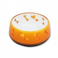 AFP Comederos Love Plástico -Naranja L-900Ml