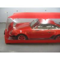 Carcoon 4X1,6 M Traslúcido/rojo, Interior