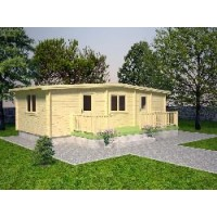 Casa de Madera Molly 1,(33,3M²)