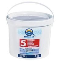 Cloro Quimicamp 5 Acciones 200Gr Envase 5 Kgs