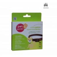 Collar Gatos Repelente de Insectos Sin Insecticida Color Marrón (Activo 3 Meses)