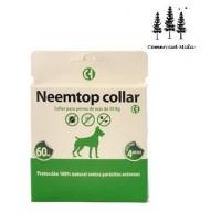 Collar Neemtop para Perros de Más de 30kg Repelente Natural de Todo Tipo de Insectos (60Cm)