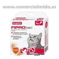 Fiprotec Spot On Gato (4 Pipetas X 0,5Ml)