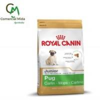 Pienso Royal Canin PUG Junior 1,5Kg para Perros Cachorros de Raza Carlino
