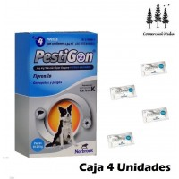 4 Pipetas Fipronilo Pestigon 1,34Mg Perros10-