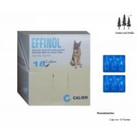 Caja 18 Pipetas Effinol 2,68Ml Pulgas Garrapa