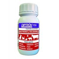 Insecticida Concentrado contra Insectos Rastreros y Voladores Diptron 150 250Ml
