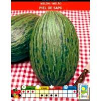 Melón PIEL de SAPO Ecologico. 2 Gr. 70 Semillas-Seeds. Bio Ecológicas.