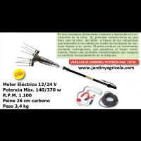 Vareador Aceitunas Electrico Anova 370W