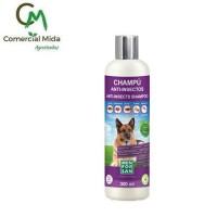 Champú Menforsan 300Ml Anti-Insectos para Perros (Margosa,geraniol y Lavandino)