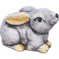 Conjunto TRES Conejos, 13-17X12Cm. Color