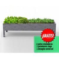 Mesa de Cultivo Medius 40 Acero Galvanizado | Huerto Urbano