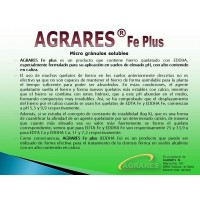 Quelato Hierro FE PLUS 6% Eddha 4,8 O-O. 100Kg Apto Agricultura Ecológica.