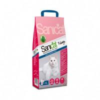 Sanicat Aloe Vera Arena para Gatos para 7 Día