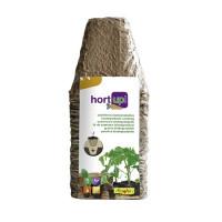 Semilleros Biodegradables Cuadrados Marrón Fl