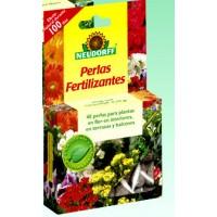 Abono Ecológico en Perlas. 100 Dias de Alimento para sus Plantas. 40 Perlas.