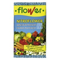 Abono Nitroflower Poliv. AZUL 750Gr.