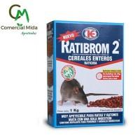 Ratibrom 2 1Kg - Raticida en Cereales Enteros Veneno contra Ratas y Ratones