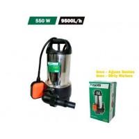 Bomba Sumergible Inox.agua Sucias 550 W/9500 L/hora