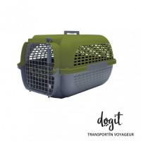 Dogit Pet Voyaguer Lverde/gris
