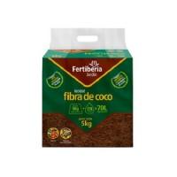 Fertiberia Bloque de Fibra de Coco 100% Natural 5 Kg