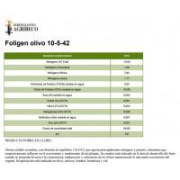 Foligen Olivo 10-5-42, Abono NPK de Fertilizantes Agribeco