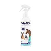 Parasital Loción Repelente Antiparasitaria para Perros, Animales de Compañía y Équidos. Bote 400 Ml