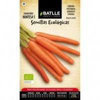 Zanahoria Nantesa. Semillas Ecológicas 2 Gr