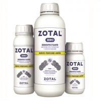 Zotal Zero Desinfectante de Uso Doméstico E Industrial con Olor a Limón 1 L